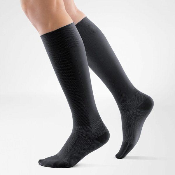 compression-sock-performance-black